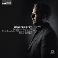 交響曲第5番、第1番『古典交響曲』 ジェイムズ・ガフィガン&オランダ放送フィル