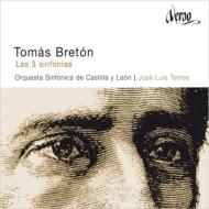 交響曲第1番、第2番、第3番 ホセ・ルイス・テメス&カスティーリャ・イ・レオン交響楽団(2CD)
