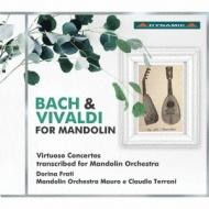 マンドリンのためのバッハ&ヴィヴァルディ〜絶技巧協奏曲をマンドリン・オーケストラ編曲で マウロ・エ・クラウディオ・テッローニ(マンドリン・オーケストラ)