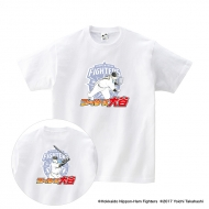 Tシャツ(背番号なし)白/XL|大谷翔平 ×高橋陽一 コラボグッズ