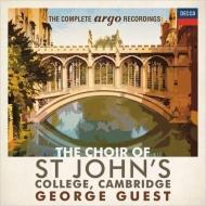 ケンブリッジ・セント・ジョンズ・カレッジ聖歌隊 アーゴ録音全集(42CD)