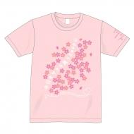 「今日もサクラ舞うZeppに」Tシャツ(Sサイズ/ピンク)/CHiCO with HoneyWorks