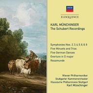 Symphonies Nos.2, 3, 4, 5, 6, 8, 9, Rosamunde, etc : Munchinger / Vpo, Stuttgart Co, Stuttgart Klassische Po (4CD)