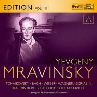 ムラヴィンスキー・エディション第3集〜ブルックナー:交響曲第8番、スクリャービン:法悦の詩、カリンニコフ:交響曲第2番、バッハ:管弦楽組曲第2番、他(6CD)