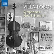 交響曲第8番、第9番、第11番 イザーク・カラブチェフスキー&サンパウロ交響楽団