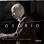 Schubert Piano Sonatas Nos.20, 21, Brahms : Jorge Federico Osorio (2CD)