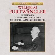 交響曲第7番、第8番 ヴィルヘルム・フルトヴェングラー&ベルリン・フィル(1953)