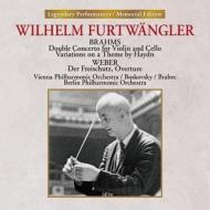 二重協奏曲、ハイドン変奏曲 ヴィルヘルム・フルトヴェングラー&ウィーン・フィル、ボスコフスキー、ブラベッツ、ベルリン・フィル