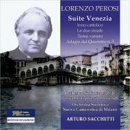 組曲『ヴェネツィア』、2つの道、2つの道、主題と変奏、他 サッケッティ&オルケストラ・シンフォニア・スタービレ『プレッセンダ』ディ・アルバ