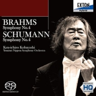 ブラームス:交響曲第4番、シューマン:交響曲第4番 小林研一郎&読売日本交響楽団