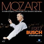 『フィガロの結婚』 全曲、『ドン・ジョヴァンニ』 全曲、『コジ・ファン・トゥッテ』 全曲、他 フリッツ・ブッシュ&グラインドボーン音楽祭(9CD)