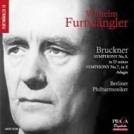 交響曲第9番(1944)、交響曲第7番〜第2楽章(1942) ヴィルヘルム・フルトヴェングラー&ベルリン・フィル