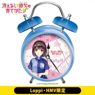 「冴えない彼女の育てかた♭」オリジナルボイス入り時計(恵)【Loppi・HMV限定】