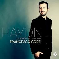 ハイドン(1732-1809)/Piano Sonatas: Francesco Corti(Cemb)