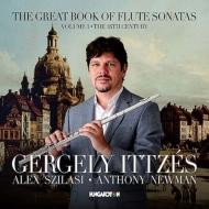 『The Great Book of Flute Sonatas Vol.1〜18世紀 バッハ、ヘンデル、C.P.E.バッハ、モーツァルト』 ゲルゲイ・イッツェーシュ