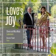 『愛の喜び LOVE'S JOY』 スティーヴン・ミード&ミサ・ミード(ユーフォニアム)、ベンジャミン・パウエル(ピアノ)