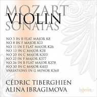 Complete Violin Sonatas Vol.4 : Alina Ibragimova(Vn)Cedric Tiberghien(P)(2CD)