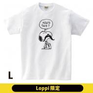 ひげTシャツ(L)スヌーピー【Loppi限定】