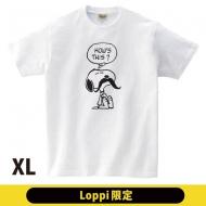 ひげTシャツ(XL)スヌーピー【Loppi限定】