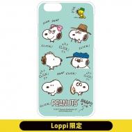 iPhon6/6sカバー(ブラザー)スヌーピー【Loppi限定】