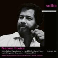 Saint-Saens Piano Concerto No.2 : Freire(P)A.fischer / Berlin Rso +Grieg, Liszt