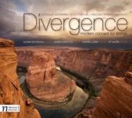 Divergence〜現代の弦楽器のための協奏曲集 オンドレイ・レブル、グレン・ディクテロウ、カレン・ドレイファス、他
