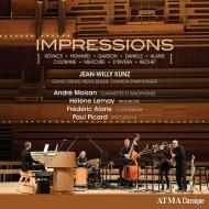 『インプレッションズ』 ジャン=ウィリー・クンツ、アンドレ・モワソン、エレーヌ・ルモー、フレデリック・アラリー、ポール・ピカール
