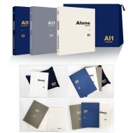 SEVENTEEN 4TH MINI ALBUM'AL1'SHOWCASE Alone Note +Pouch SET