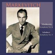 チャイコフスキー:交響曲第4番、シューベルト:交響曲第3番 イーゴリ・マルケヴィチ&ゲヴァントハウス管弦楽団(1978年ステレオ)