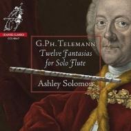 無伴奏フルートのための12のファンタジア アシュリー・ソロモン