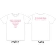 DIAMOND EDGE in JAPAN 2017 SEVENTEEN 1ST WORLD TOUR Tシャツ(White: L)