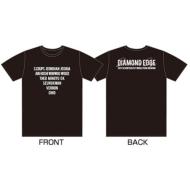DIAMOND EDGE in JAPAN 2017 SEVENTEEN 1ST WORLD TOUR Tシャツ(Black: M)
