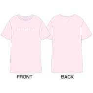 DIAMOND EDGE in JAPAN 2017 SEVENTEEN 1ST WORLD TOUR ビッグシルエットTシャツ(Pink)