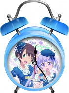 『NEW GAME!!』オリジナルボイス入り時計(青葉×はじめVer.)【Loppi・HMV限定】
