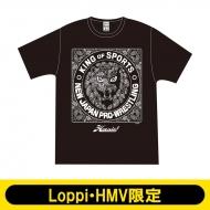 NJPW×ハオミン ペイズリー柄Tシャツ(S)【Loppi・HMV限定】