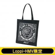 NJPW×ハオミン ペイズリー柄トートバッグ【Loppi・HMV限定】