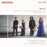 バッハ:イタリア協奏曲、ガーシュウィン:『ポーギーとベス』組曲、ドナトーニ:ラッシュII アルシス・サクソフォン四重奏団