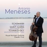 シューマン:チェロ協奏曲、サン=サーンス:チェロ協奏曲第1番、チャイコフスキー:ロココ変奏曲 アントニオ・メネセス、クルス&ロイヤル・ノーザン・シンフォニア