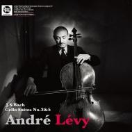 無伴奏チェロ組曲 第3番、第5番:アンドレ・レヴィ(チェロ)(180グラム重量盤レコード/Spectrum Sound)