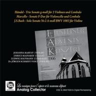 『ドイツ・エプシュタイナー音楽祭1966ライヴ〜バッハ、ヘンデル、マルチェッロ』 ヨハンナ・マルツィ、エンリコ・マイナルディ、他
