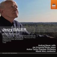 チェロ協奏曲第2番、1楽章のソナタ、他 アンジェイ・バウエル、マレク・モシ&アウクソ・ティヒ室内管、他