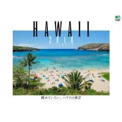 カレンダー2018 眺めていたい、ハワイの風景 壁掛けタイプ B4ワイド