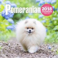 2018大判カレンダー ポメラニアン