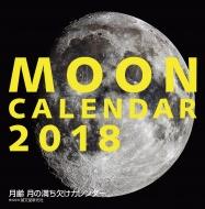 2018大判カレンダー 月齢 月の満ち欠けカレンダー