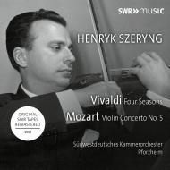 Vivaldi Four Seasons, Mozart Violin Concerto No.5 : Henryk Szeryng(Vn)/ Pforzheim SWR Chamber Orchestra (1969 Stereo)