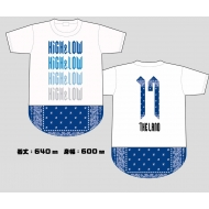 HiGH&LOW THE LAND バンダナTシャツ/WHITE