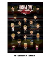 HiGH&LOW THE LAND キャラステッカーセット
