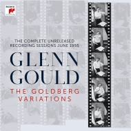 Glenn Gould : The Goldberg Variations Complete Unreleased Recording Sessions June 1955 (+LP)