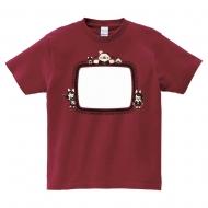 MONSTER HUNTER XX × kakina Tシャツ(ダンサーズ) バーガンディ SIZE: S