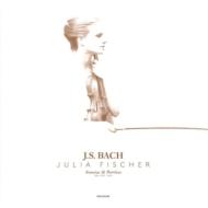 無伴奏ヴァイオリンのためのソナタとパルティータ全曲:ユリア・フィッシャー(ヴァイオリン)(3枚組/180グラム重量盤レコード)